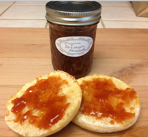 Jar of hand made marmalade